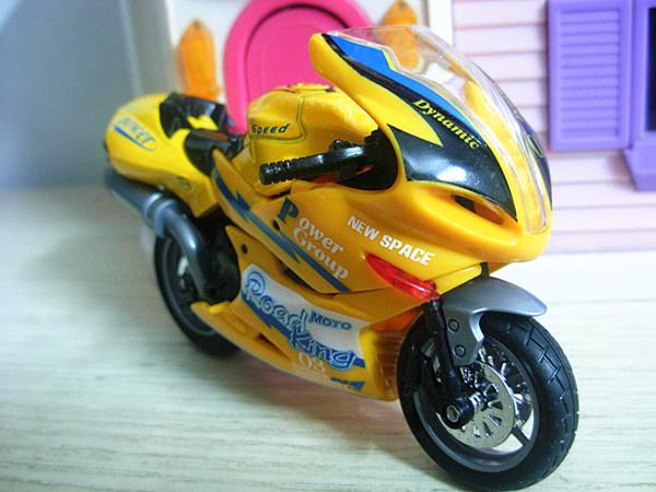 plastic scale motorcycle