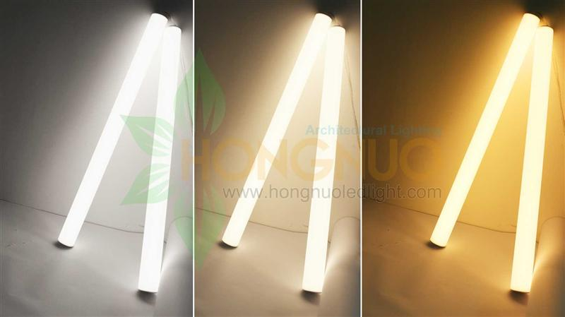 80x1800 36w Vertical Pendant Solo Tube Led 36w Round Architectural Light Linear Tube Hanging