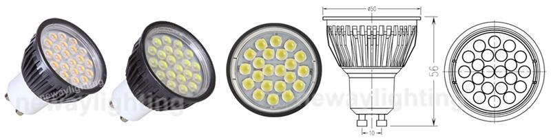 LED Spot GU10 5W Pictures