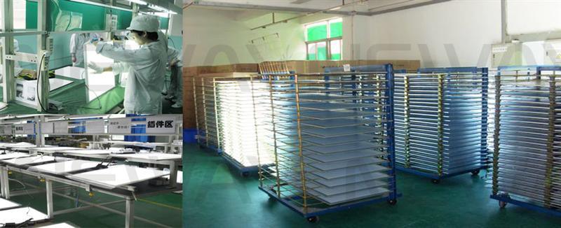 45W 600x600 LED Ceiling Lighting Panel Quality Inspection