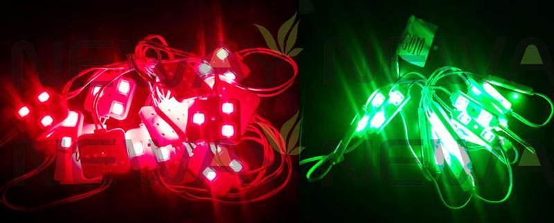 Outdoor LED Module 4 LED Luminous Effect