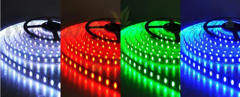 5050 LED RGB Colour Changing Flexible Strip Light Kit Pictures