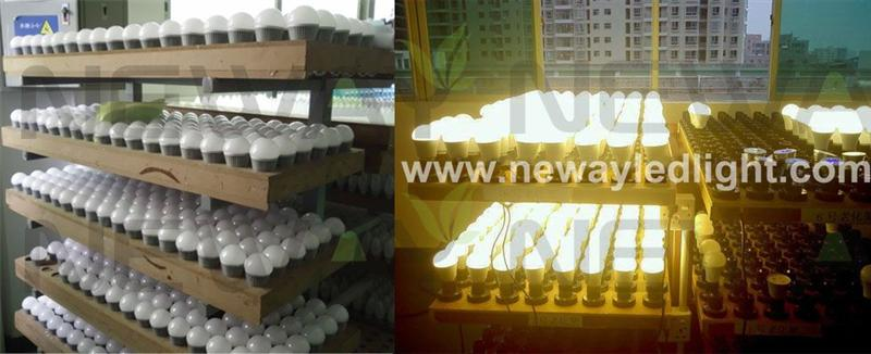 7W Samsung SMD 5630 LED Bulb Quality Inspection