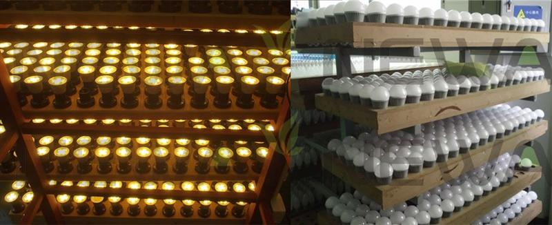 8W 5630 SMD LED Light Bulb Review Quality Inspection