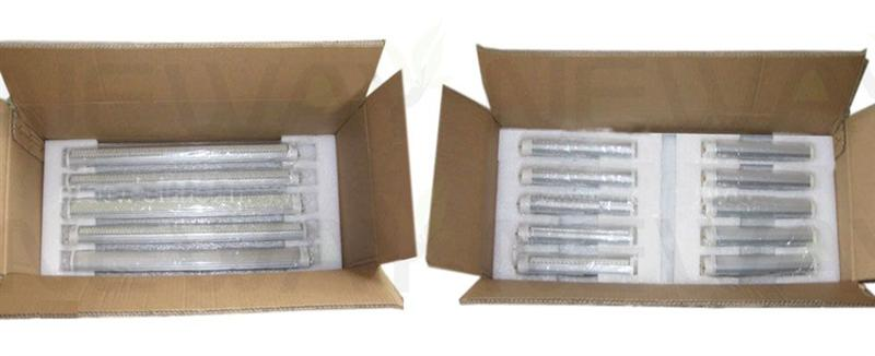 8Wattages 2G11 Lamp Holder LED Tube Light Packing Details