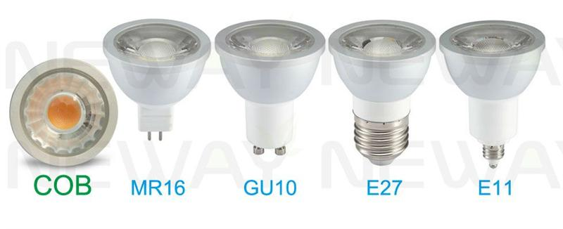 Dimmable 6W GU10 COB LED Spot light Pictures