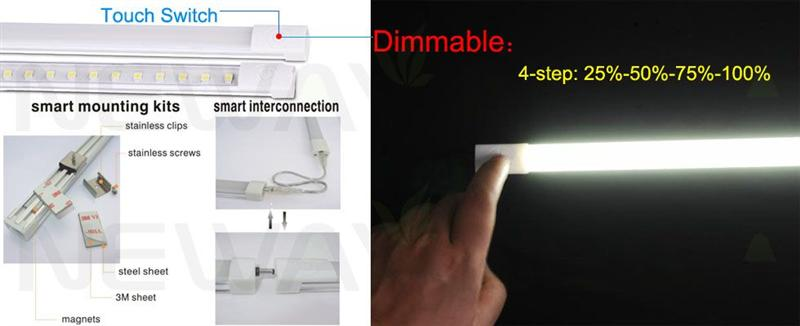 4steps dimmable led linear light bar 600mm 50504steps dimmable led 4steps dimmable led linear light bar 600mm 5050 introduction led dimmable linear light bar using aloadofball Image collections