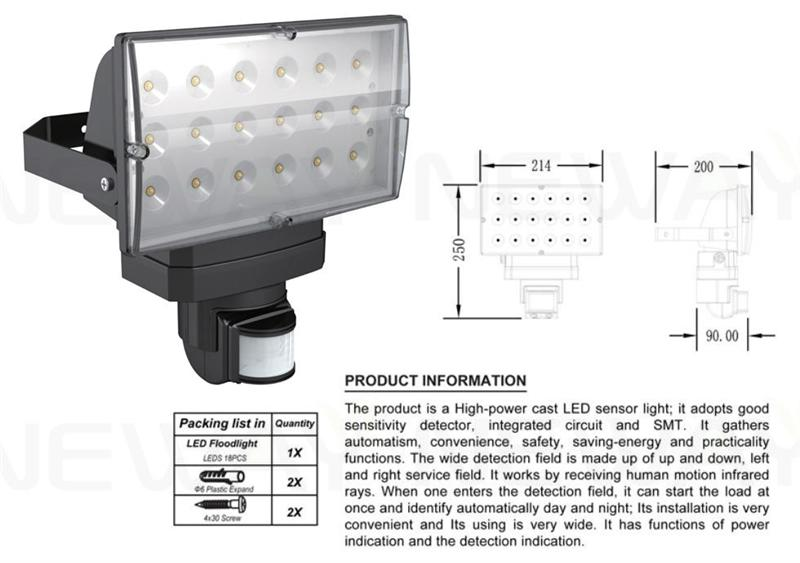 Outdoor 28w pir infrared motion sensor led flood lightingoutdoor we are professional outdoor 28w pir infrared motion sensor led flood lighting outdoor sendor led mozeypictures Image collections