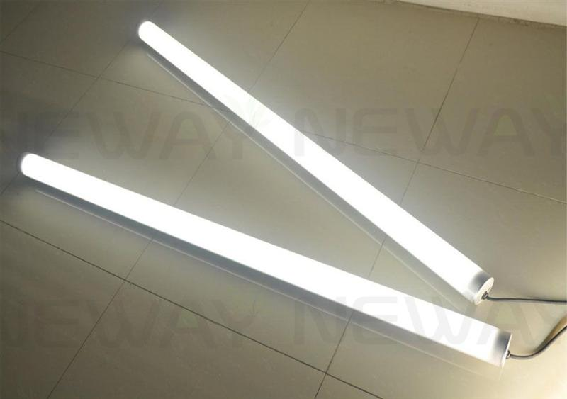 48 inch t8 52 watt bright white waterproof linear led tube. Black Bedroom Furniture Sets. Home Design Ideas
