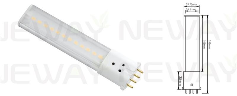 We are professional 6Watts SMD 2G7 Lamp Base 4pin Plug in PL LED Tube, 6Watts 2G7 Lamp Base  PL LED Tube, 6Watts SMD 2G7 4pin Plug in PL LED Tube, 6Watts 2G7 4pin LED PL Tube Bulb manufacturer and supplier in China. We can produce according to your requirements. For more information of 6Watts SMD 2G7 Lamp Base 4pin Plug in PL LED Tube, please Contact us directly. Applications:Bar lighting, hotel decoration, home lighting, lamps lighting, engineering lighting, parking lots, restaurants, cafes, clubs, windows, showrooms, art hall, museums and other indoor energy-efficient lighting Places.