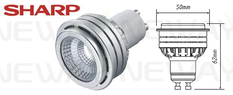 We are professional 5W High Power GU10 LED Spot light Bulb Sharp COB,5W High Power LED Spot Light Bulb, 5W 220V Gu10 LED Spotlight Bulb, 5W Sharp COB Gu10 LED Spot Light manufacturer and supplier in China. We can produce according to your requirements. For more information of 5W High Power GU10 LED Spot light Bulb Sharp COB, please Contact us directly. Applications: A variety of shopping malls, hotels,  KTV, home, a variety of jewelry gold crystal watch boutique counter lighting, museums, galleries, hospitals, Furniture City , laboratories and other local indoor lighting and accent lighting energy saving Places