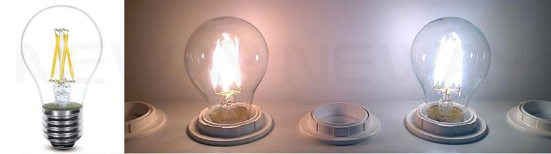 3.5W LED Filament Type Vintage Thomas Edison Light Bulbs E27 Screw Photos