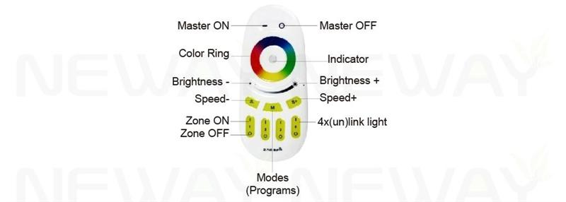 9w wireless led full color rgb bulb lights remote a60 warm