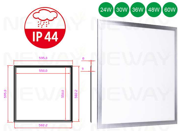 30W,600x600 IP44 Flat led lighting panel,600x600 IP44 Flat led panels ...