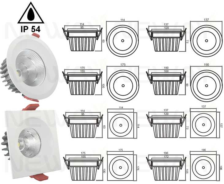If you want to know more 18W 20W 22W IP54 Square Retrofit Dimmable LED Recessed Light or interested in our 18W 20W 22W IP54 Square Retrofit Dimmable LED ...  sc 1 st  Neway Lighting Intu0027l Co.Ltd & 18W 20W 22W IP54 Square Retrofit Dimmable LED Recessed Lightsquare ...