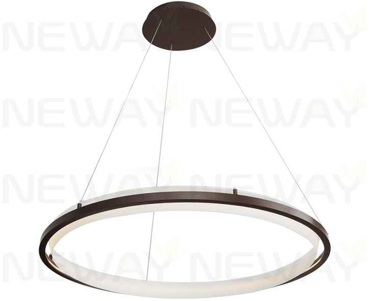 Modern Circular Hanging Lights Pendant Lighting 450mm