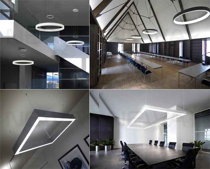 Office Ceiling Lamps On Modern Aluminum Flat Panel Led Lighting Office Pendant Lightflat Light Lampled Ceiling Light Lamp Panel Lights Office