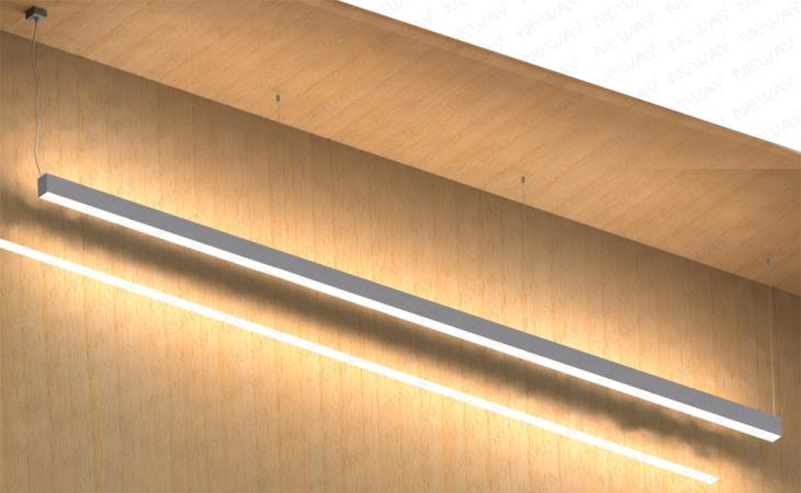 48w72w96w led direct indirect office lighting pendant light 48w72w96w led direct indirect office lighting pendant light fixturesdirect and indirect led linear pendant lightled direct indirect linear suspension aloadofball Choice Image