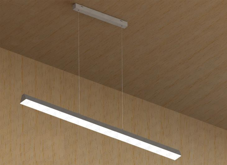 linear suspended lighting. Lighting Suspended Linear LED Fixtures,suspended Light N