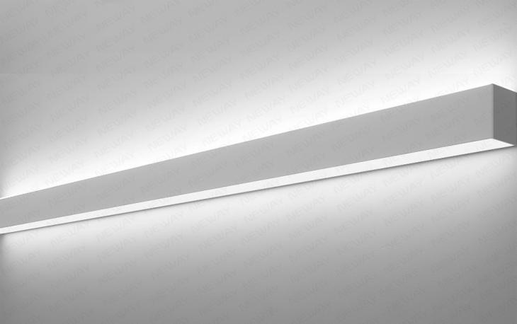 22w 90w Direct Indirect Linear Led Wall Lights Wash
