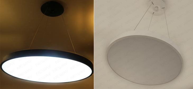 400mm 600mm 800mm Led Pendant Hanging Light Circular