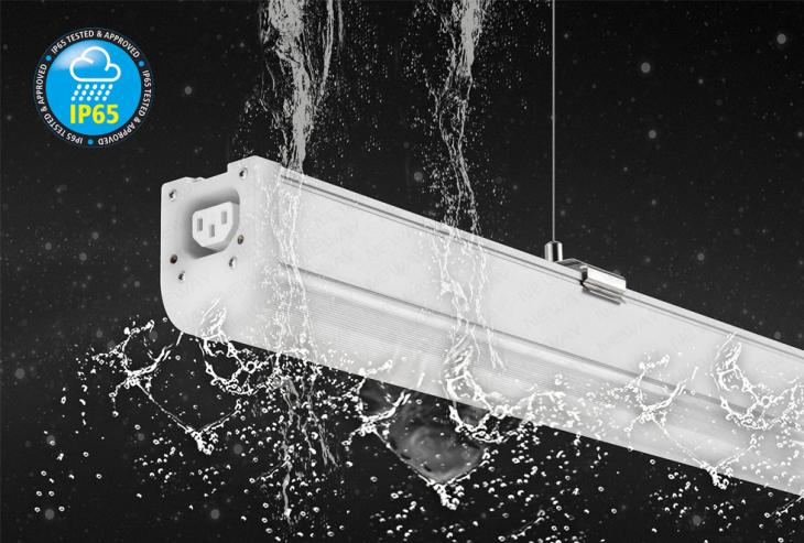 Seamless Connection Ip65 Waterproof Linear Office Hanging
