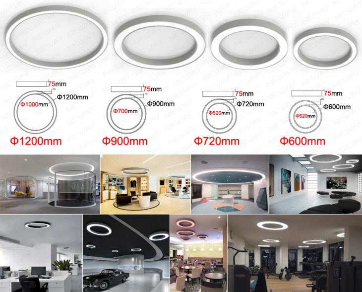... hospital lighting, Factory lighting, Shopping malls lighting, various  kinds of indoor lighting, architectural lighting systems for commercial  projects.