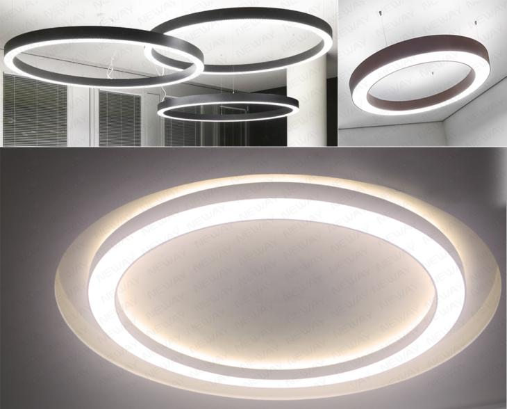 Decorative Up Down Led Hanging Lights Pendant Lamp For
