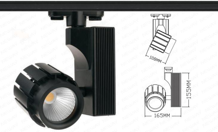 40w High Luminous Effect Led Track Light Ceiling Lighting Specifications 01 Brand Neway 02 Country Of Origin Dongguan China