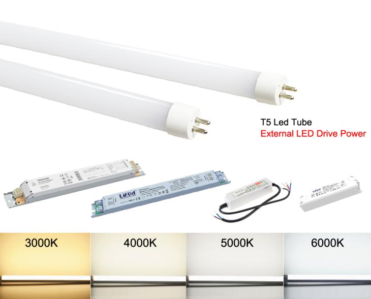 T5 Led Replace Fluorescent Tubes 6w 10w 14w 18w T5 Led Tube