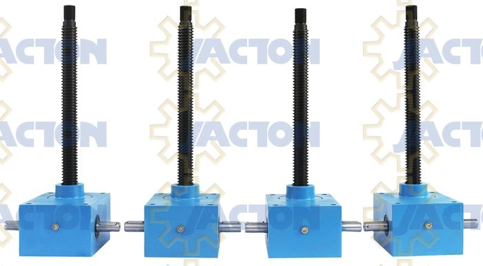 Jack Acme Rod : Jtc series cubic screw jack features