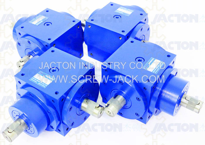 JTV160 Miter Gearbox,right angle 3 shaft miter gearbox,1 to1