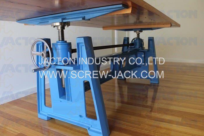 Hand Crank Table Lift Mechanism,screw jacks for hure crank