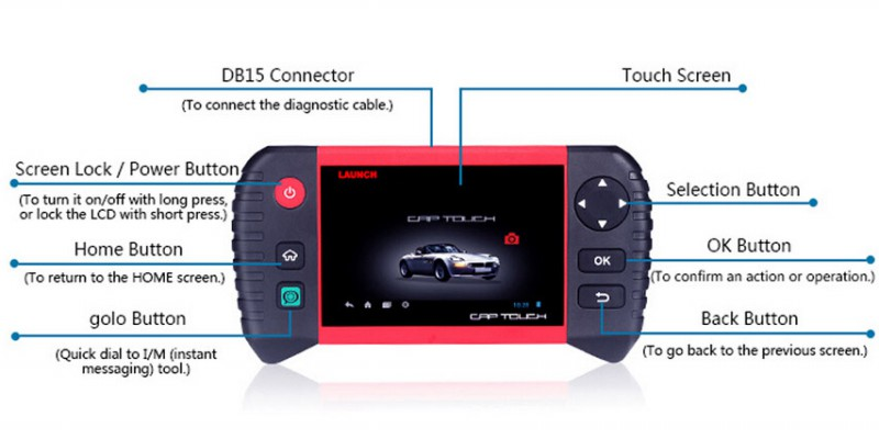 Launch CRP Touch Pro Display 1