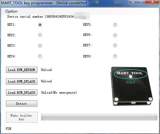 Mart Tool Key Programmer for Jaguar Land Rover KVM