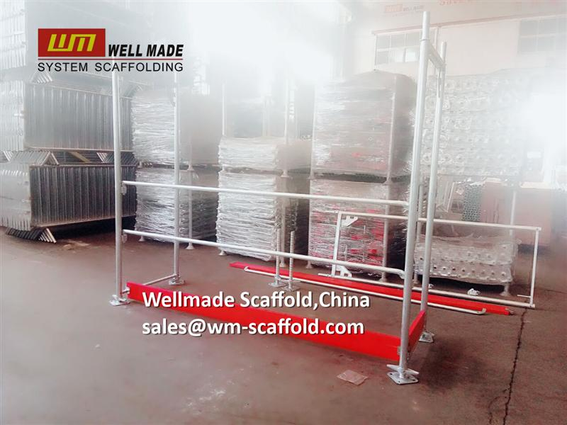 scaffolding frames h frame scaffolding to euro with main frame toe board guard rails from wellmade scaffold China at wm-scaffold.com