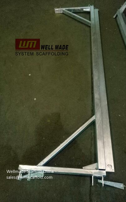 8 Ft Modular System Kwikstage Scaffolding Loading Bay Transom-construction building concrete formwork scaffolding materials-scaffold  wellmade scaffold china lead oem scaffolding manufacturer