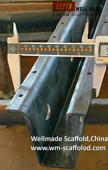 concrete peri formwork rb bridge system components steel wing beam in hat channel sales at wm-scaffoldc.com wellmade scaffold china