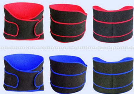 2015 new Breathable Adjustable Neoprene Back Support Waist Belt for back pains