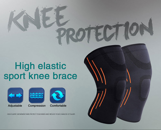 High Elastic Sport Knee Brace